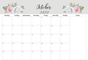 Printable Calendar Of October 2020
