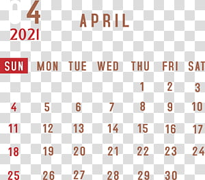 April 2021 Calendar free download
